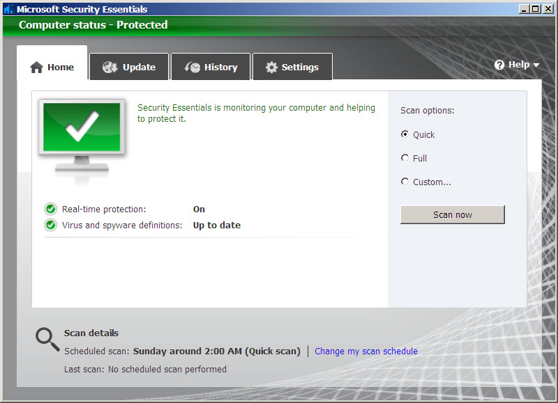 Image result for Microsoft Security Client