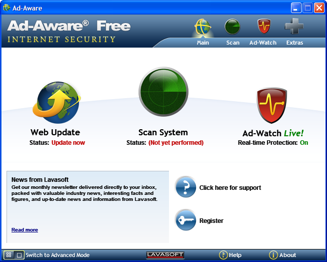 Adaware free internet security 9 0 exe