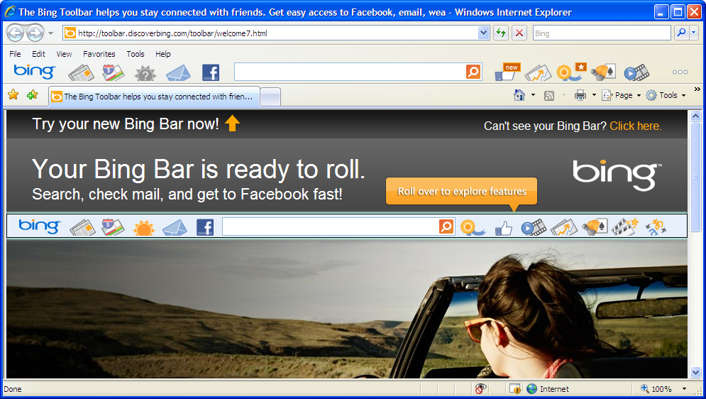 Bing Bar « Browser Toolbar « System Software Research