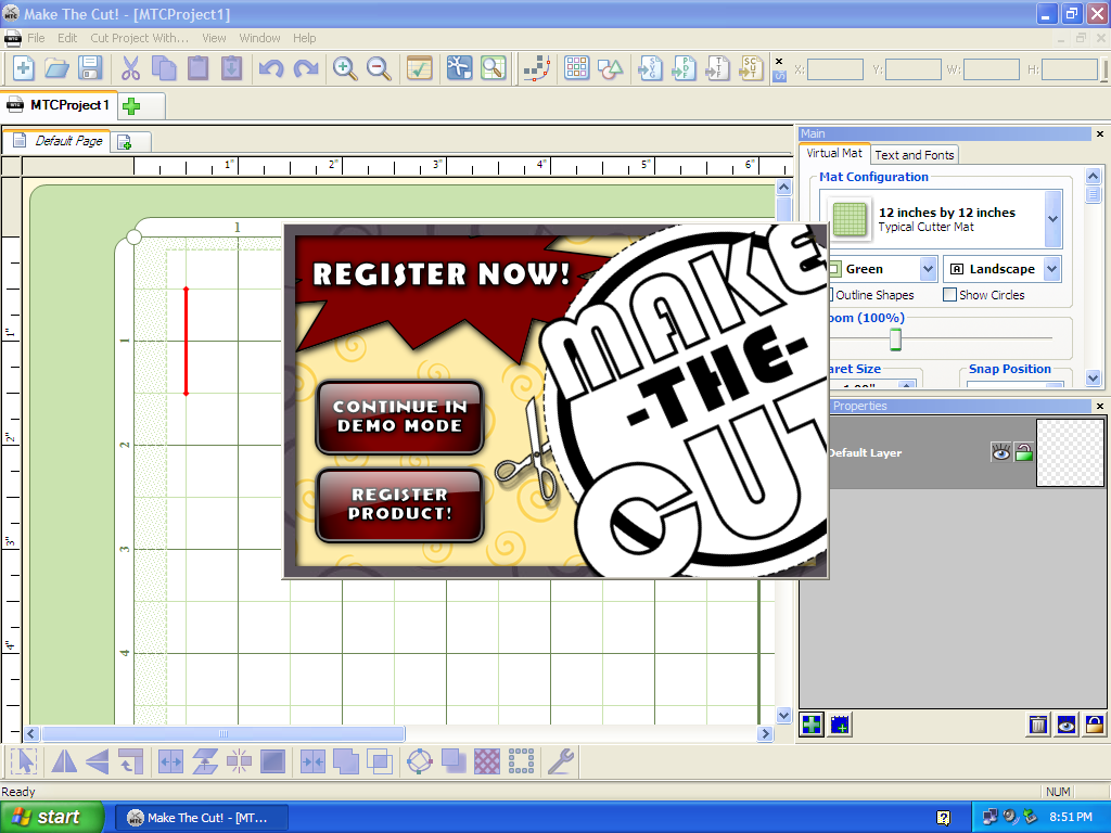 Make The Cut >> Make The Cut Make The Cut Image Tools System Software Research