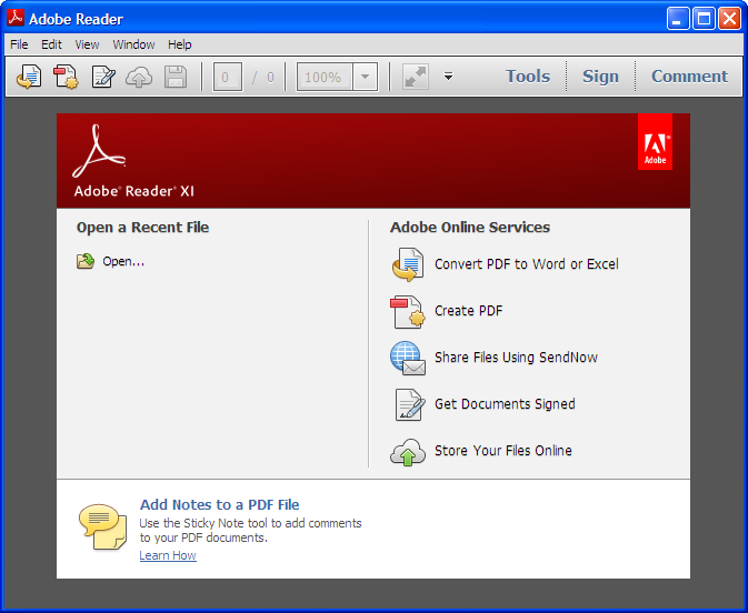 adobe acrobat reader xi free download for windows 7