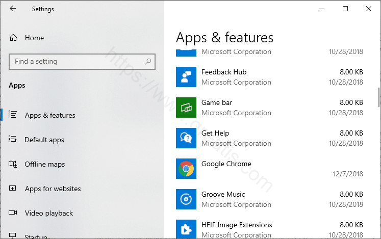 Uninstall Unwanted Apps